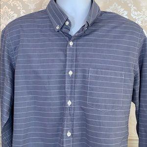 Men's J. Crew Horizontal Stripe Slim Washed Shirt